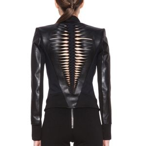 DION LEE + Filter Leather Biker Jacket